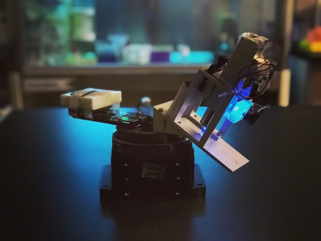 Rotation microscope